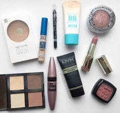 Five Minute Fresh Face Makeup   Drugstore Products