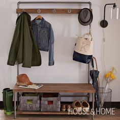 Entryway Organizer | House & Home