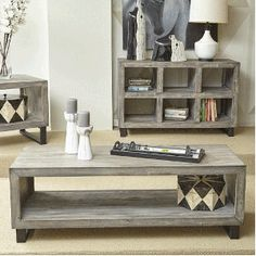 Mulholland Drive Cocktail Table - Rectangular - Coffee / Cocktail Tables - Occasional Tables - Living Room  - Bernie & Phyl's Furniture - by Jofran Inc.