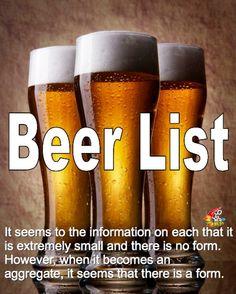 世界中のビールが集う-Beer List(ビールリスト)-|ちょっとおじゃまな情報屋さん!