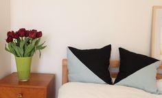 Three Colour Pillow Tutorial | Fabrics-Store.com - The Thread
