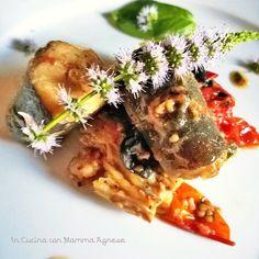 In Cucina con Mamma Agnese: Gattuccio di Mare al Pomodoro Olive e Menta fresca...