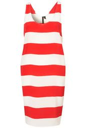#splendidsummer Stripe Vest Dress By Boutique