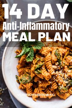 Anti-Inflammatory Meal Plan Recipes fro Breakfast, Lunch, and Dinner-Word From The Bird - Detox dinner Detox Breakfast, Breakfast Recipes, Dinner Recipes, Meal Recipes, Breakfast Healthy, Dinner Ideas, Planning Budget, Meal Planning, Detox Meal Plan