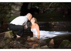 trash the dress, trash the dress waterfall, trash the dress new jersey, bride and groom photo ideas, trash the dress, NJ