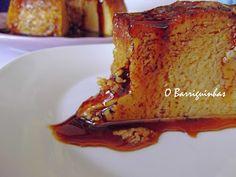 O Barriguinhas: Sobremesas French Toast, Breakfast, Sweet, Samba, Portuguese, Portugal, Food, Pudding Cupcakes, Pudding Recipe