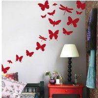 Wallstickers Ferm Living - Butterflies