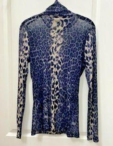 Karen Kane Semi Sheer Silky Animal Print Top XL   eBay Karen Kane, Animal, Ebay, Tops, Animals, Animaux, Animales