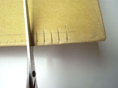 Making a cardboard l
