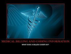 The basics of the medical coding and billing information job is to take a look at each of the patient's chart and allot the proper codes for all services rendered in the visit. After alloting these codes, the bills are prepared by the medical billing dept and then sent to the correct agencies government or personal insurance offices for remittance.