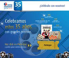 ¿Quieres celebrar nuestro 35 Aniversario? ¡Participa!
