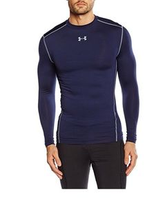 los angeles 29a22 dc38e NWT Size M, Under Armour Mens ColdGrear Armour Compression Crew  Sweatshirts armour crew