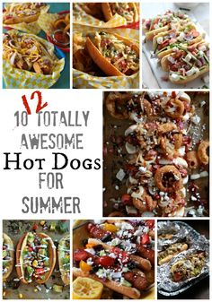 Next week is the FOURTH annual Hot Dog Week. You guys, four years later and Hot Dog week is still going strong. I time it every year for right around Memorial Day Weekend just so you are prepared to start summer off on the right food. We have Twelve of the past favorites, for these …