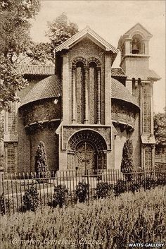 The Watts Chapel at Compton