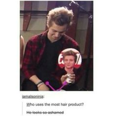 And that he should be,but that quiff is fantabulous though.