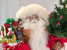 Santa Claus by DianesHeirloomSantas on Etsy