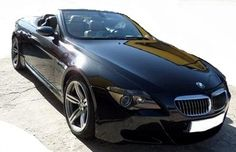 2007 BMW M6 Cabriolet 2 door 4 seater convertible sports car for sale in Spain