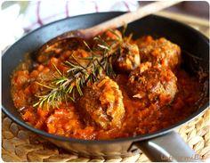 Comment faire twister le steak haché ?  #boulettes tomate carotte romarin - #meatballs