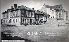 Betania kirkko 1900-luvun alku. Helsinki, Finland, Louvre, Building, Travel, Viajes, Buildings, Trips, Construction
