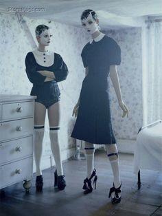 """""""Mechanical Dolls"""" by Tim Walker for Vogue Italia October 2011"""