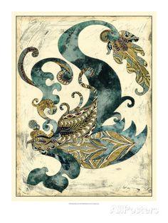 Royal Phoenix Prints by Chariklia Zarris at AllPosters.com