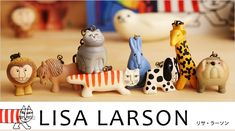 全部欲しい!「 リサ・ラーソン(Lisa Larson)」の雑誌付録&ムック本付録まとめ♡ | Jocee