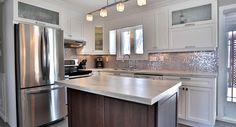 Cuisine Kitchen Island, Kitchen Cabinets, Home Decor, Kitchens, Restaining Kitchen Cabinets, Homemade Home Decor, Kitchen Base Cabinets, Interior Design, Home Interiors