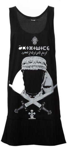 KTZ Black Apron Tshirt