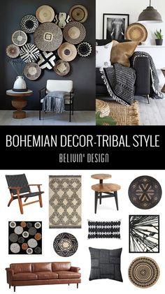 Get the Tribal Style Look: 38 Bohemian Decor Ideas