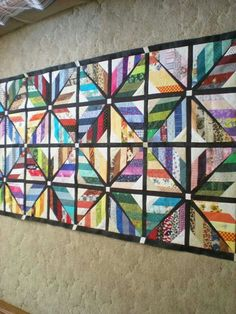 Appliqué Quilts, String Quilts, Quilted Table Runners, Quilt Designs, Quilt Blocks, Quilt Patterns, Projects To Try, Anna, Design Ideas