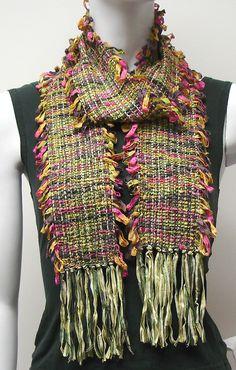 Judith Shangold. Silk & ribbon.