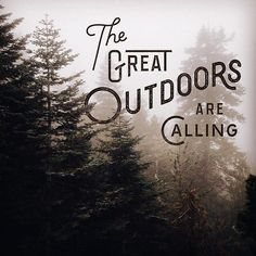 Birds chirping, leaves rustling, brooks babbling... The great outdoors whisper your name— adventure is calling. So travel the world— Explore. Enjoy. Embrace the beauty that surrounds us. Photo Credit: http://ink361.com