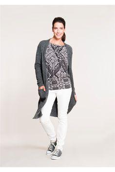 Zwart-wit batik look. #missetam