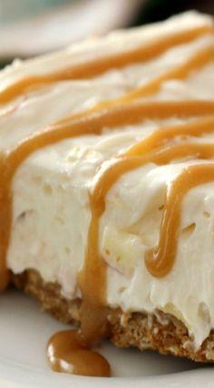 Caramel Apple Oatmeal Cookie Cheesecake Pie