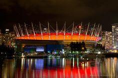 """""""The Stadium"""" by Henrik Nilsson, via 500px. BC Place, Vancouver"""