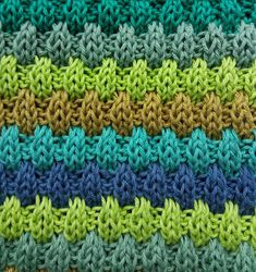 This dish cloth is knitted with residue yarn. Knitted Washcloth Patterns, Baby Boy Knitting Patterns, Knitted Washcloths, Dishcloth Knitting Patterns, Knit Dishcloth, Knit Patterns, Stitch Patterns, Knitted Hats, Slip Stitch Knitting