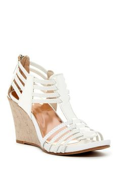 Donald J. Pliner Ginnie Wedge Sandal by Assorted on @HauteLook