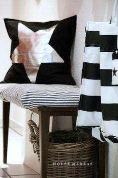 Even wat anders? De salontafel en wat kussens staan ook mooi in de entree.