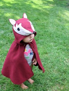 Fox Cape Halloween Costume: