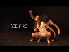 Ed Sheeran - I See Fire - Alexander Chung & Taylor Hatala (Live Performance) - YouTube