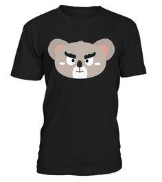 # Angry Koala Head .  Angry Koala Head
