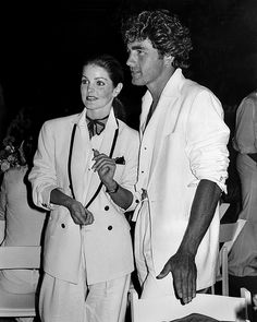 Priscilla with boyfriend Mike Edwards (their 7 year relationship lasted from 1978-1984)