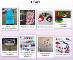 How to create a gallery or table of images on your blog (Tutorial) & my new Project Gallery