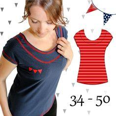 eBook AnniNanni Schnitt 8 schnelles Shirt - Nähanleitungen bei Makerist
