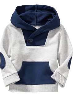 Color-Block Fleece Hoodies for Baby Product Image