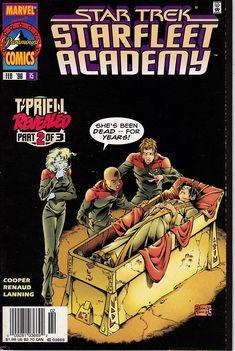 Star Trek Starfleet Academy 15 February 1998 Issue  Marvel