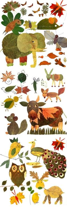 art projects for kids using nature * art using nature for kids Autumn Crafts, Fall Crafts For Kids, Autumn Art, Nature Crafts, Projects For Kids, Diy For Kids, Kids Crafts, Art Projects, Autumn Leaves