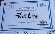 AndòCorri: 19 novembre 2017, Arena Civica di Milano - Run For...