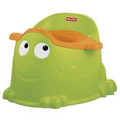 Bô vệ sinh hình ếch Fisher Price cho bé