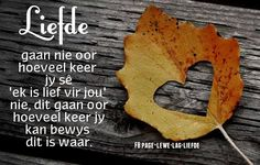 Liefde Baby Boy Knitting Patterns, Afrikaanse Quotes, Printable Quotes, Spiritual Inspiration, Picture Quotes, Anniversary Ideas, Wedding Anniversary, Marriage, Hearts